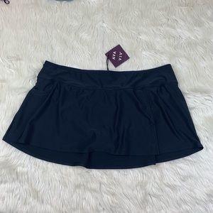 NWT Ava & Viv Skirt Modest Bikini Swimsuit Bottoms